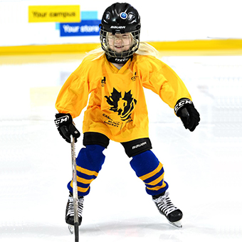 Canadian Blind Hockey child and youth