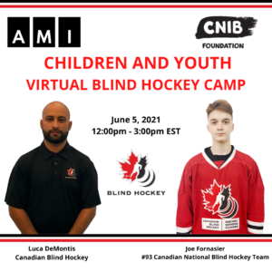 photo features photos of Luca Demontis and Joe Fornasier individuals leading the children's and youth virtual camp