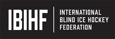 International Blind Ice Hockey Federation logo